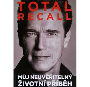 Arnold Schwarzenegger - kniha Total recall - titulka