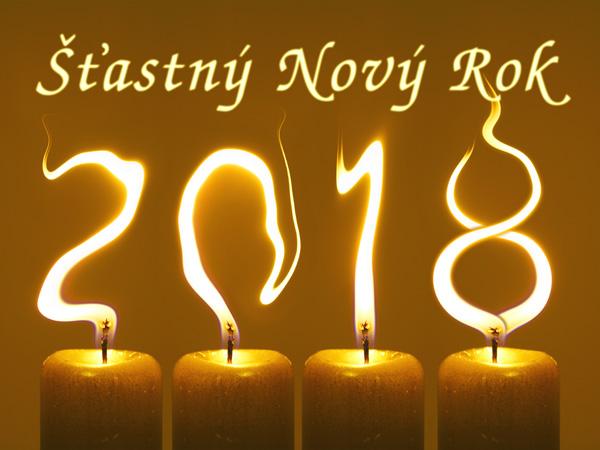 Novoročenka 2018 Šťastný Nový Rok
