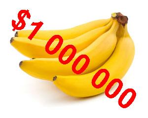 Banán za Milion - titulka