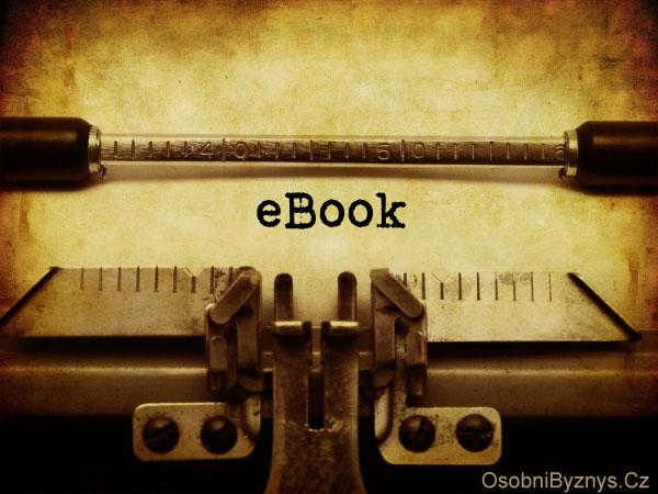 eBook psací stroj