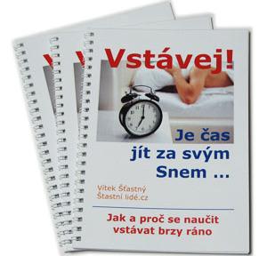 eBook Vstávej! Je čas jít za svým Snem