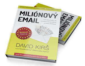 Kniha Milionový email - titulka
