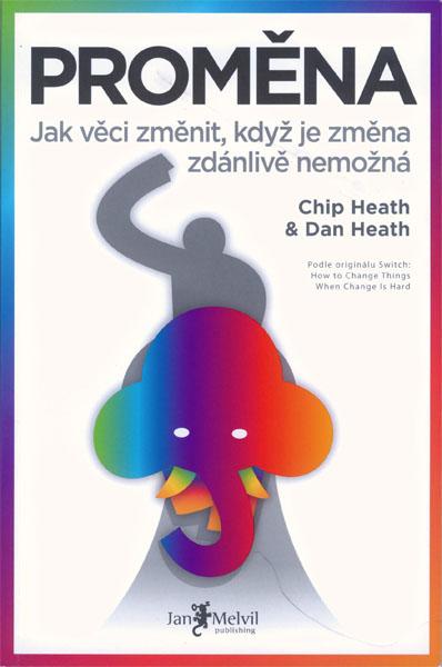 Kniha Proměna (Chip a Dan Heath)