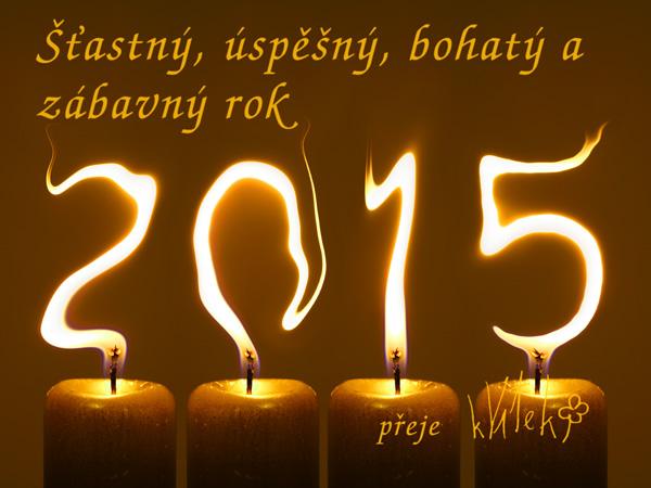 Novoročenka 2015 kVítek