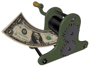 Tisk peněz - titulka