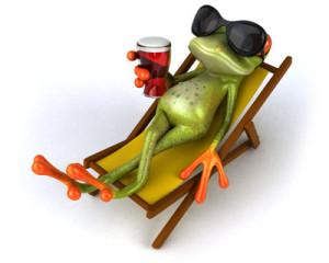 Žabka relax