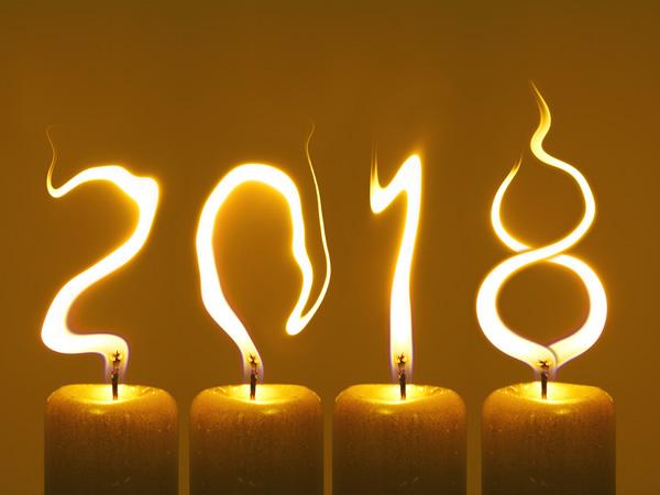 Novoročenka 2018 svíčky