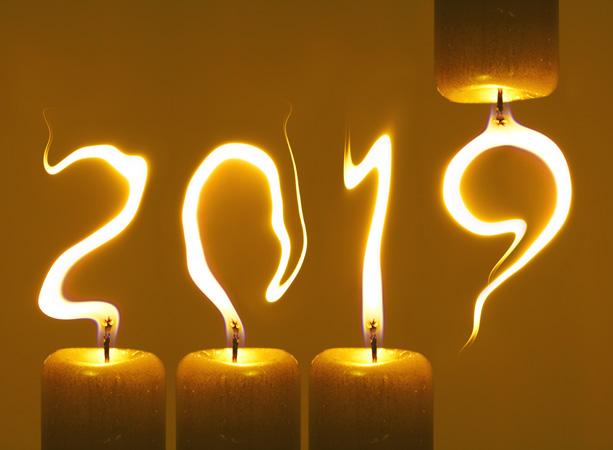 Novoročenka 2019 svíčky