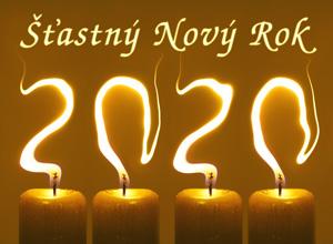 Novoročenka 2020 svíčky 300