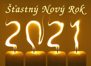 Novoročenka 2021 svíčky 300