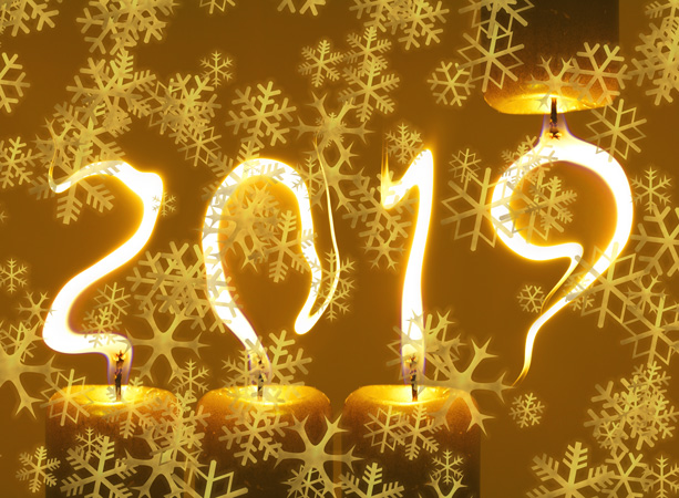 Novoročenka 2018 vločky