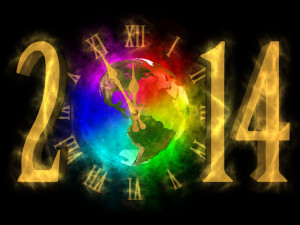 Happy New Year 2014 - picture of America
