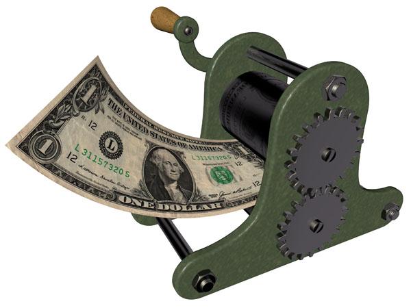 Tisk peněz